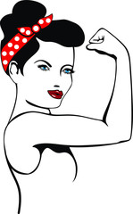 Rosie The Riveter We Can Do it. Eps