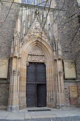 Fototapeta Bazylika Mniejsza w Strzegomiu, wejście  obraz