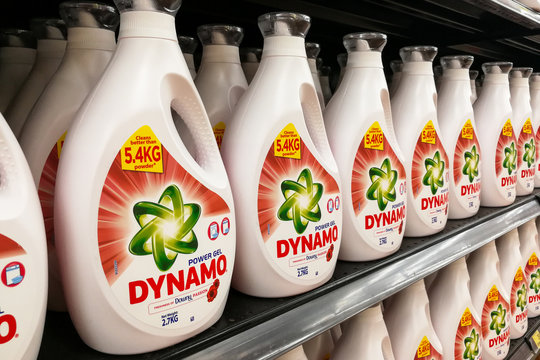 KUALA LUMPUR, Malaysia, August 15, 2017: Dynamo power gel is the leading concentrated laundry detergent in Malaysia with largest market share