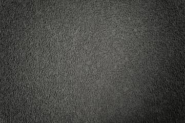 texture of gray plastic fiber carpet or doormat for background