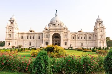 Victoria Memorial, Kolkata India Papier Peint