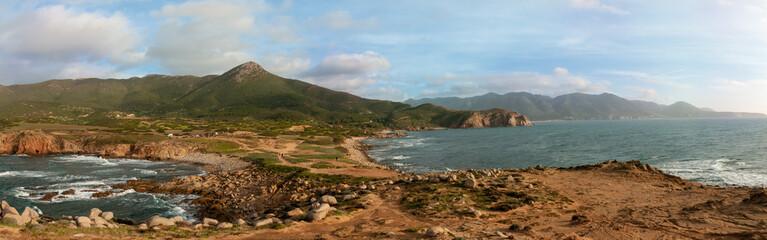 Vista della costa da Capo Pecora