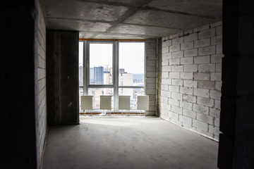 Foto op Canvas Industrial geb. abandoned building