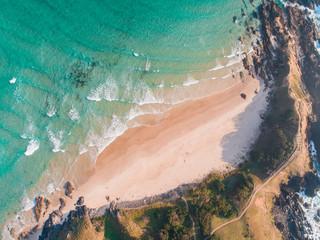 Fotobehang Groen blauw Cape Byron, Byron bay, Australia