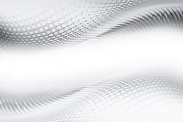 Wall Mural - Gray and white halftone prespective interior background.