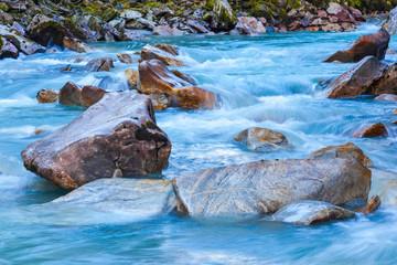 Fototapeta Glacier river obraz