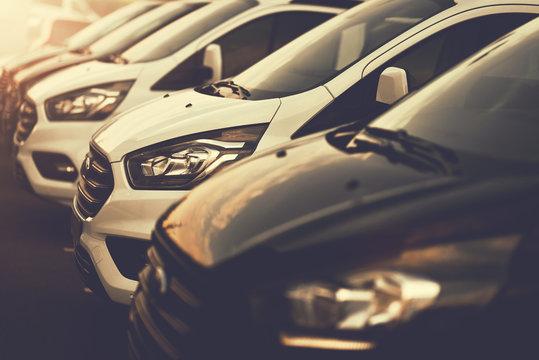 Car dealership of commercial VANs