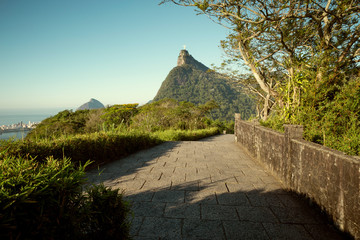 Wall Mural - Corcovado mountain in Rio de Janeiro, Brazil