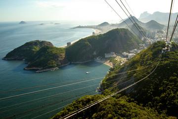 Fotomurales - Skyline of Rio de Janeiro city, Brazil
