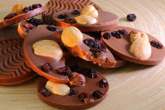 Chocolat mendiant
