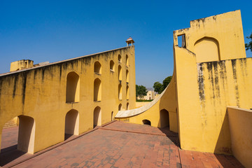 Wall Mural - Jantar Mantar, ancient astronomical observation site in Jaipur.