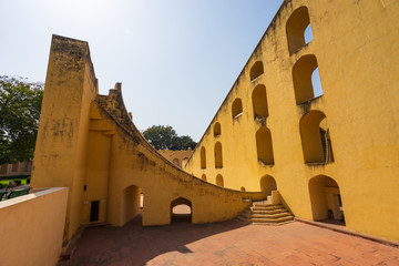 Fototapete - Jantar Mantar, ancient astronomical observation site in Jaipur.