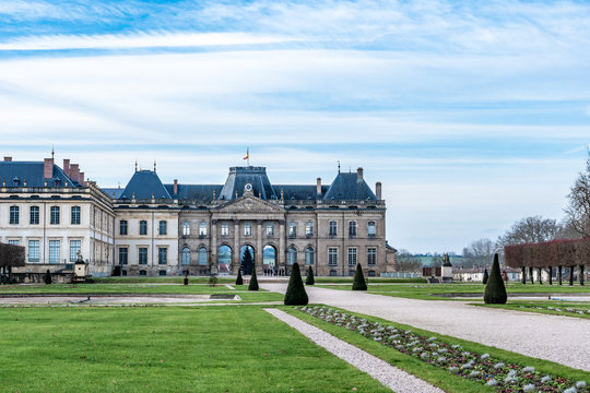 The castle of Luneville in France