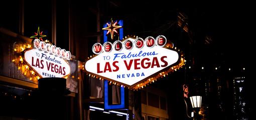 Poster Las Vegas Las Vegas Schild, USA