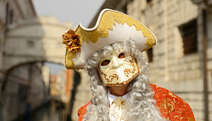 carnival at Venice, traditional festive carnival with costume and masquerade