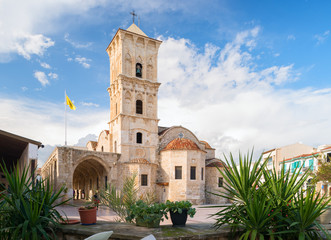 Foto auf AluDibond Zypern Church of Saint Lazarus in Larnaca, Cyprus