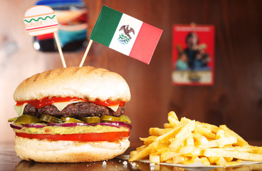 Mexican Hamburger