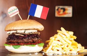 French Hamburger