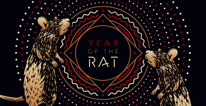 Year of the Rat - Happy Chinese New Year 2020