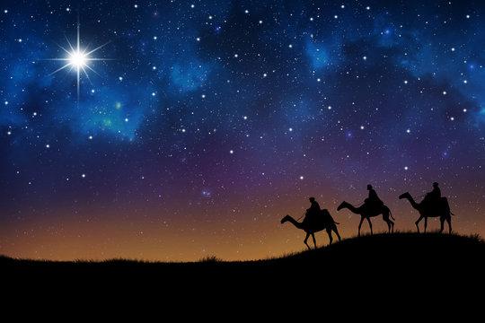 wisemen visit baby Jesus