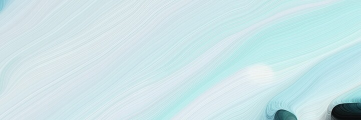 horizontal modern colorful abstract wave background with lavender, very dark blue and medium aqua marine colors. can be used as texture, background or wallpaper