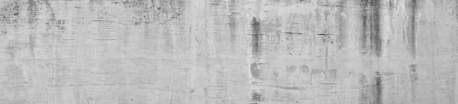 Wall concrete background. Old cement texture cracked, White, Grey vintage wallpaper abstract grunge background