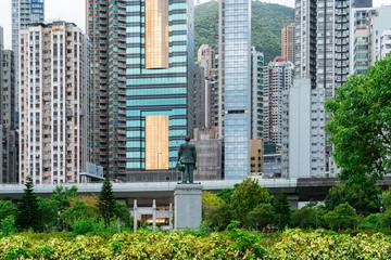 Hong Kong - Sun Yat Sen w Sheung Wan District