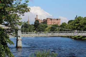 Inverness am Fluss Ness