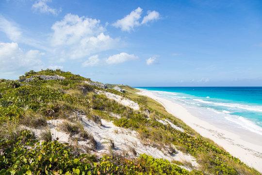 Traumhafter Strand auf Stocking Island, Bahamas