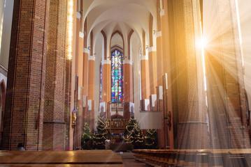 Papiers peints Lieu de culte interior of church