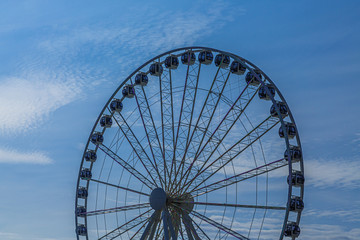Fototapete - Ferris Wheel in Blue Hour