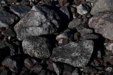 Lava volcanic rocks hi-res stock photo. Sharp, detailed and crisp background image, taken in Hawai.