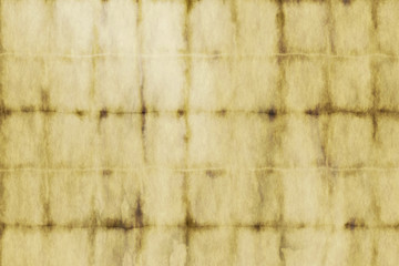 Fotobehang - Old vintage faded paper texture.Rustic antique paper background with a nice patina.