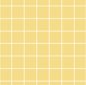 Yellow pattern squares background vector design
