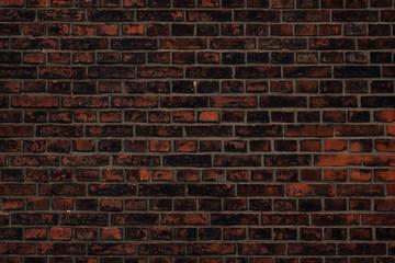 Dark red brick wall background