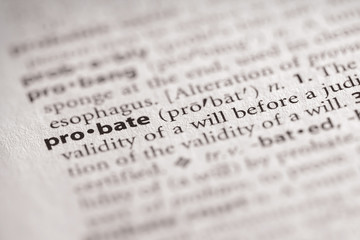 Dictionary Series - Probate