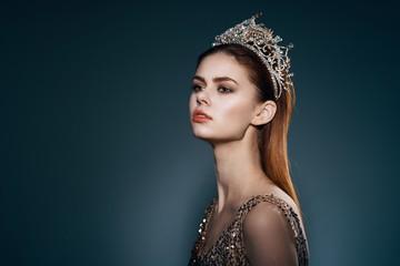 beautiful woman charm luxury model Wall mural