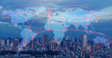 In de dag Europa グローバルネットワーク