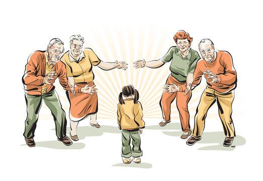 Grandparents Rivalry