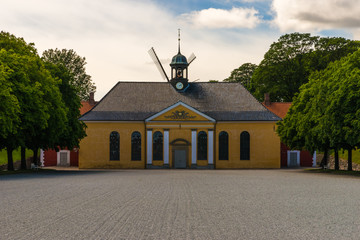 At the Kastellet, the citadel of Copenhagen