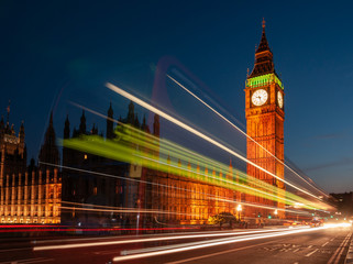 Foto op Textielframe Londen Big Ben and House of Parliament London