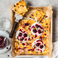 Sweet Cheese Bake