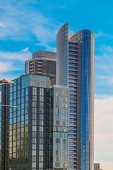 Fotomurales - Modern Glass Towers in San Diego