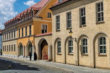 Fotomurales - naumburg, deutschland - alte gebäude in der altstadt