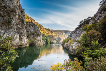 Acrylic Prints Northern Europe Matka Canyon - Skopje, North Macedonia