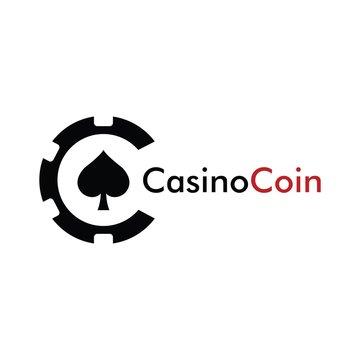 Casino coin logo design for casino business, gamble, card game, speculate, etc