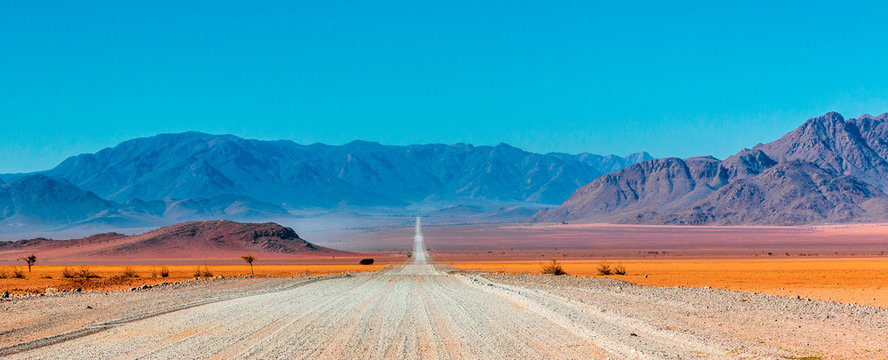 On the road in Africa, Namibia