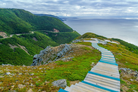 Skyline trail, in Cape Breton Highlands National Park