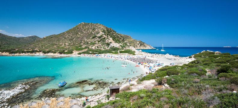 Sardaigne - Plage de Punta Molentis