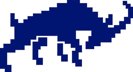 Fototapete - Pixel Goat Gore